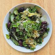 Deep Greens & Kimchi