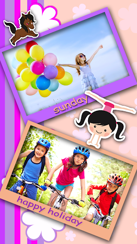 android Colorful Photo Frames Screenshot 1
