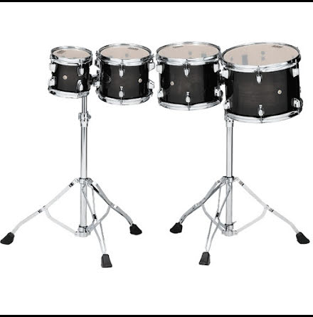 Tama Consert Tom Tom set - High Pitch - CCLT4H-TPB