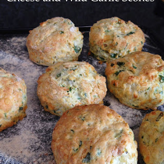 Cheese and Wild Garlic Scones