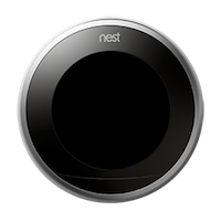 Nest thermostat black screen