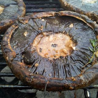 Broiled Portobello Mushrooms.