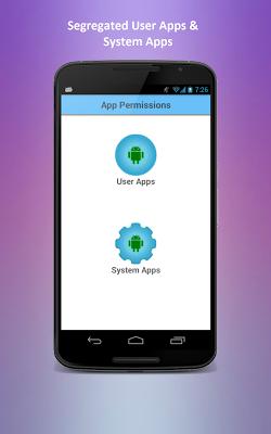 App Permissions - screenshot