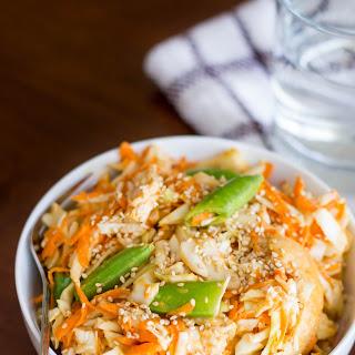 Asian Shredded Chicken Salad.