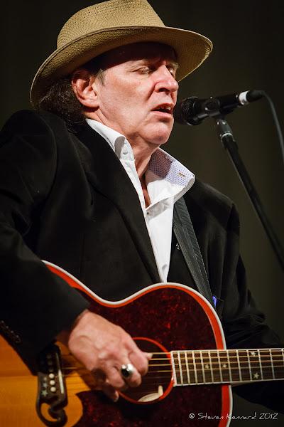 Photo: Ron Hynes at Deep Roots Music Festival - photo Steven Kennard