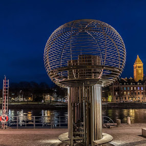 Kväll i Norrköping by Håkan Bley - Uncategorized All Uncategorized
