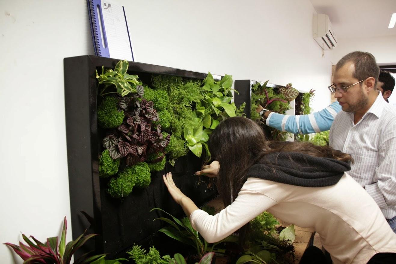 Formación en jardines verticales