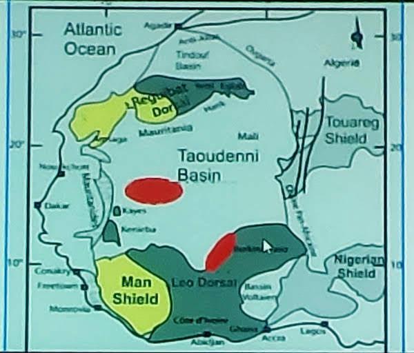 Carta delle risorse minerarie