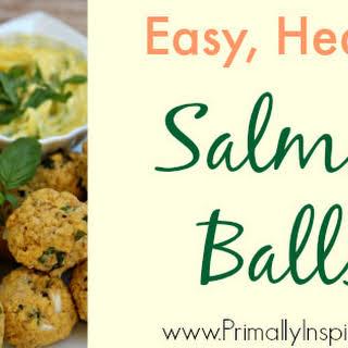Salmon Balls (Grain Free, Paleo).