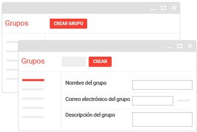 Crear grupos de Google para tu equipo
