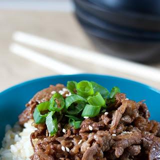 Bulgogi (Korean BBQ Beef).