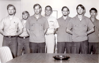Photo: Advancement ceremony in the CO's conference room,  VT 26 Oct. 15, 1973