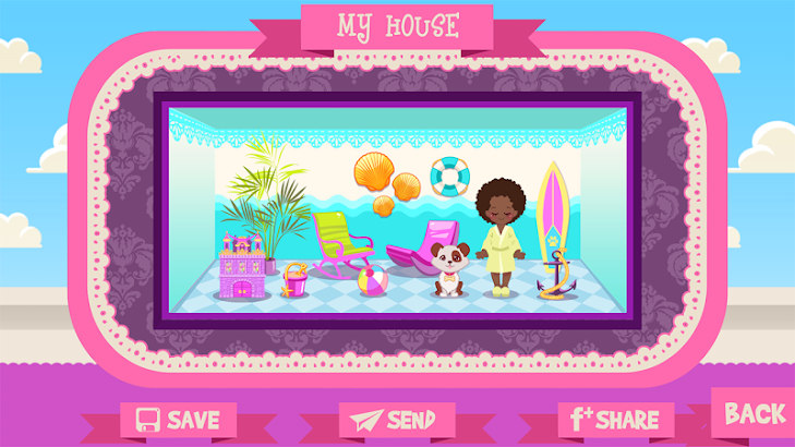 Beach House Decorating Games- screenshot thumbnail