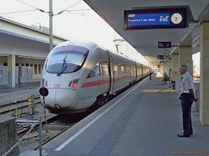 Photo: ICE-T (DB), ICE Wien Westbf - Frankfurt (Main) Hbf {Wien Westbf; 2013-08-17}