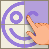 Symmetry - Drawing Puzzles icon
