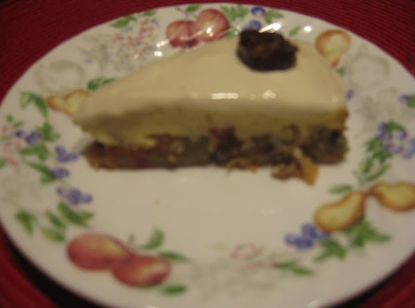 Rhubarb Torte Recipe