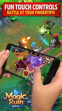 Magic Rush: Heroes APK screenshot thumbnail 1