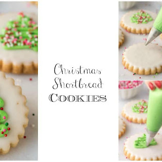 Christmas Shortbread Cookies.