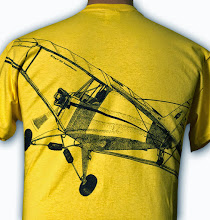 Photo: Tony Albence © 2012 design of a Cub J-3 airplane, back view