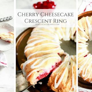 Cherry Cream Cheese Crescent Roll Dessert Recipes.