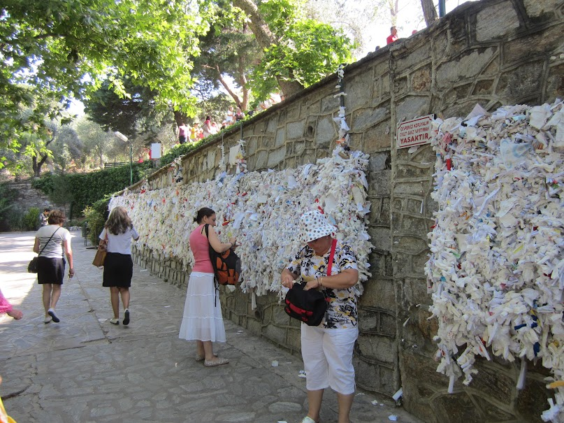 Prayer Wall, Virgin Mary's House