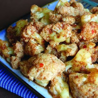 Cauliflower Manchurian [Vegan].