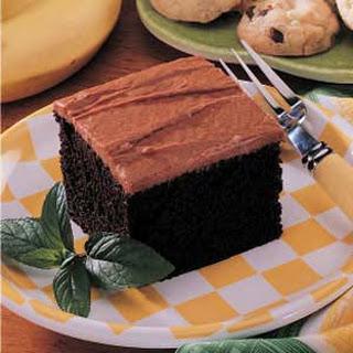 Banana Fudge Cake.