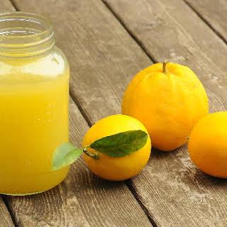 My Mom's Meyer Lemonade.