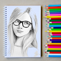 How to Draw Realistic Person with Pencil - FREE icon
