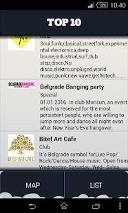 Belgrade Genie - travel guide- screenshot thumbnail
