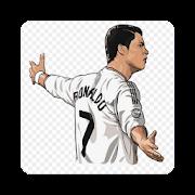 Ronaldo Cartoon Wallpaper