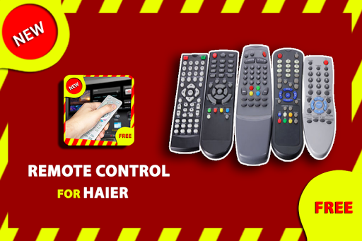 Remote control for Haier