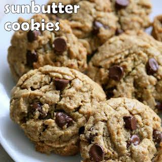 Oatmeal Chocolate Chip Sunbutter Cookies.