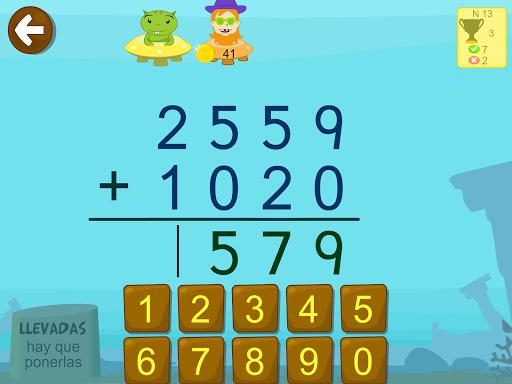Matemu00e1ticas con Grin II 678 multiplicar fracciones  screenshots 4