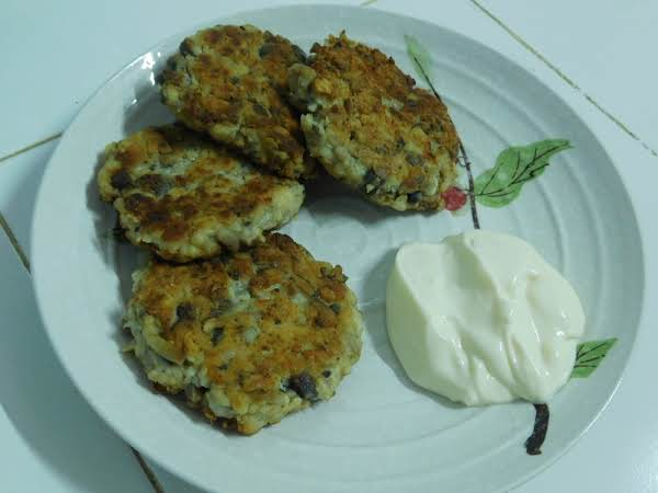 Chicken & Mushroom Patties (kotlety) Recipe