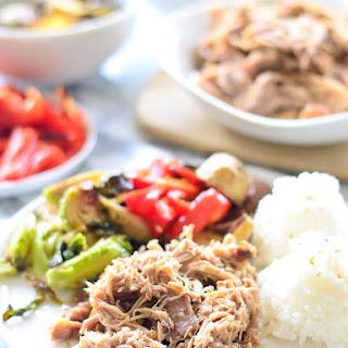 Crock Pot Kalua Pork + Hawaii Part I