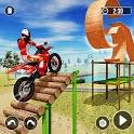 Motocross Bike Stunt - Auto Bike Games 2020 icon
