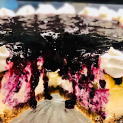 Whole Blueberry Cheesecake