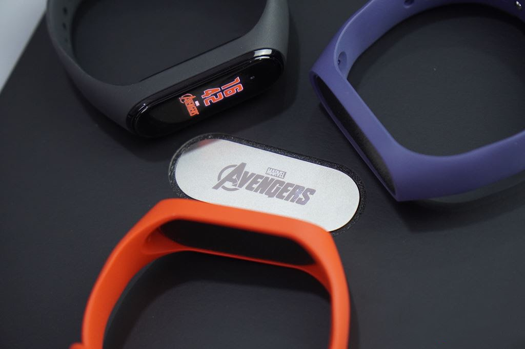 Dây thay thế silicon Mi Band 4 Avenger Edition