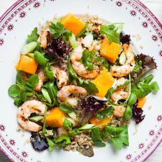 Hairy Bikers' quinoa, prawn and mango salad