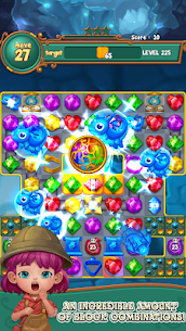 Jewels fantasy : match 3 puzzle 3