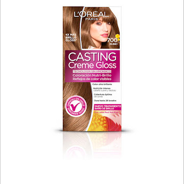 Kit Tinte L Oreal Casting Creme Gloss Rubio 700 X1und