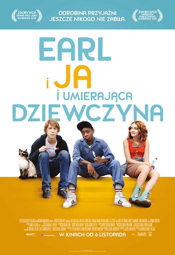 Polski plakat filmu 'Earl i Ja i Umierająca Dziewczyna'