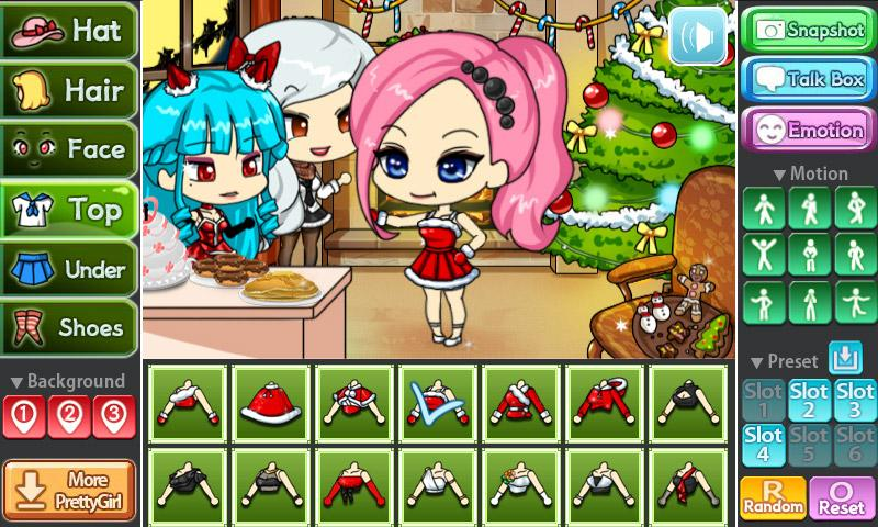 Christmas Party Pretty Girl- screenshot