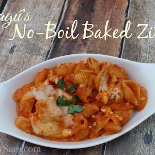Ragú No-Boil Baked Ziti #NewTraDish