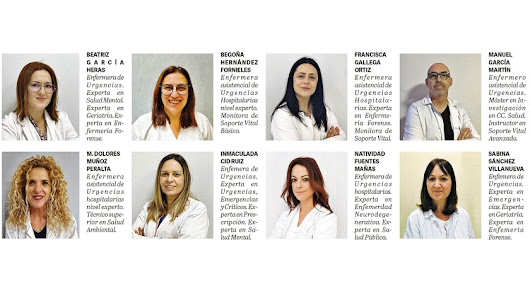 Enfermeros almerienses crean una app experta de formación sanitaria