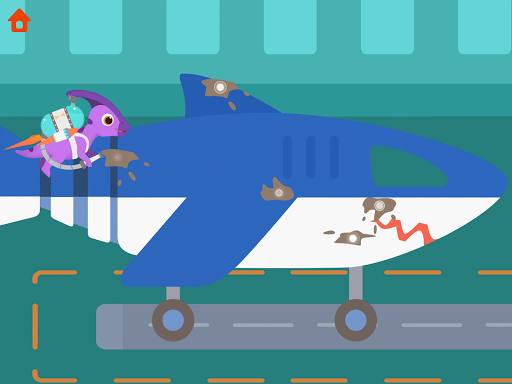 Dinosaur Airport - Flight simulator Games for kids modavailable screenshots 12
