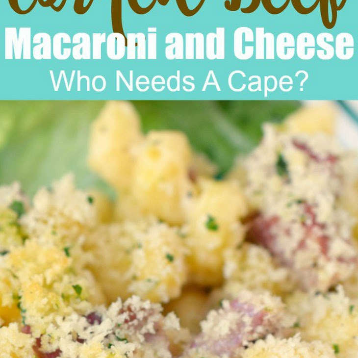 Corned Beef Macaroni and Cheese