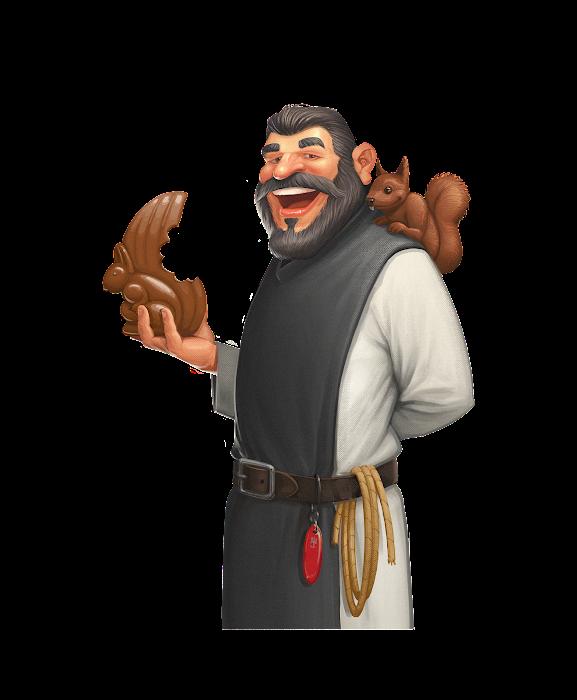 .... Le moine Cueilleur .. The Gatherer monk ....