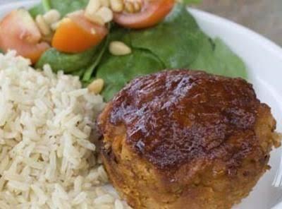 Potato Meatloaf Muffins Recipe